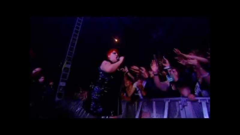 The Gossip Pop goes the world live@ Reading Festival 2009 HQ