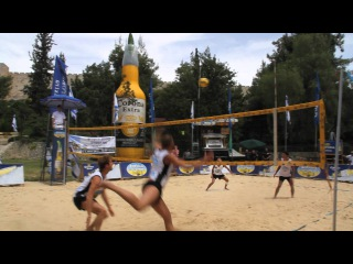 Corona FootVolley World Tour Jerusalem 2011 - Germany vs Brazil highlights