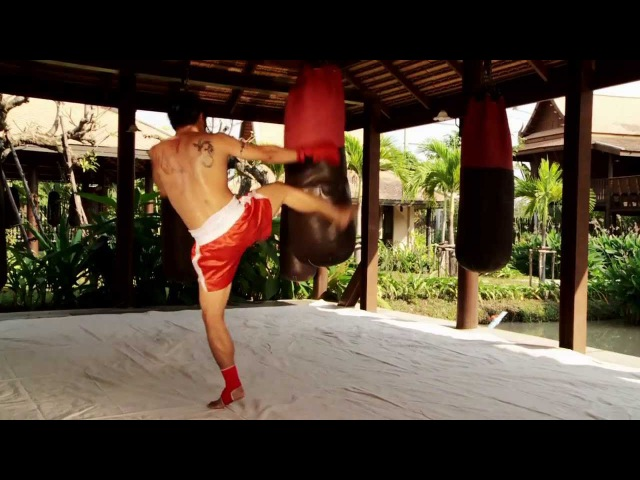 Bag Training from Saiyok and Kem (sample of the DVD)