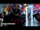 CT Fletcher Плюшевая Борода Тренирует Черного Кекса