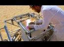 Солнечный 3D принтер в пустыне