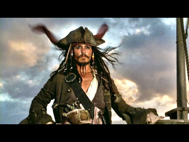 Captain Jack Sparrow Legendary first appearance intro scene Pirates Of The Caribbean Full HD
