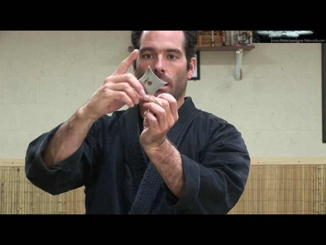 Ninjutsu Bujinkan Throwing Stars - Ninja Stars - Senban Shuriken - Black Belt Techniques