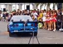 爆音!!スカイライン GTR32 アフターファイヤー ドラッグカー exhaust