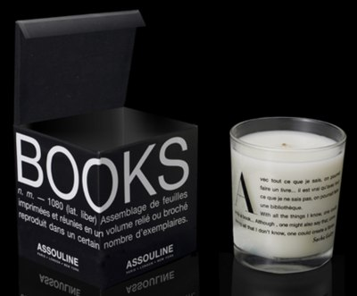 Свеча с книжным запахом.