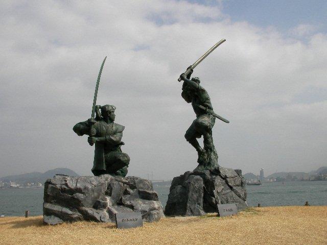 дуэль самураев