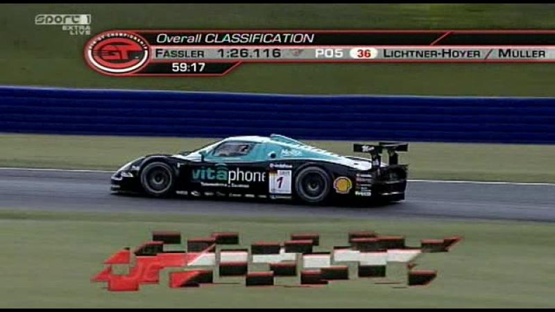 FIA GT 2008. Этап 4 - Ошерслебен