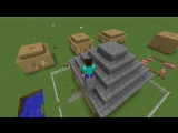 Обзор мода minecraft 1.6.4 , 1.5.2 Animated player №2
