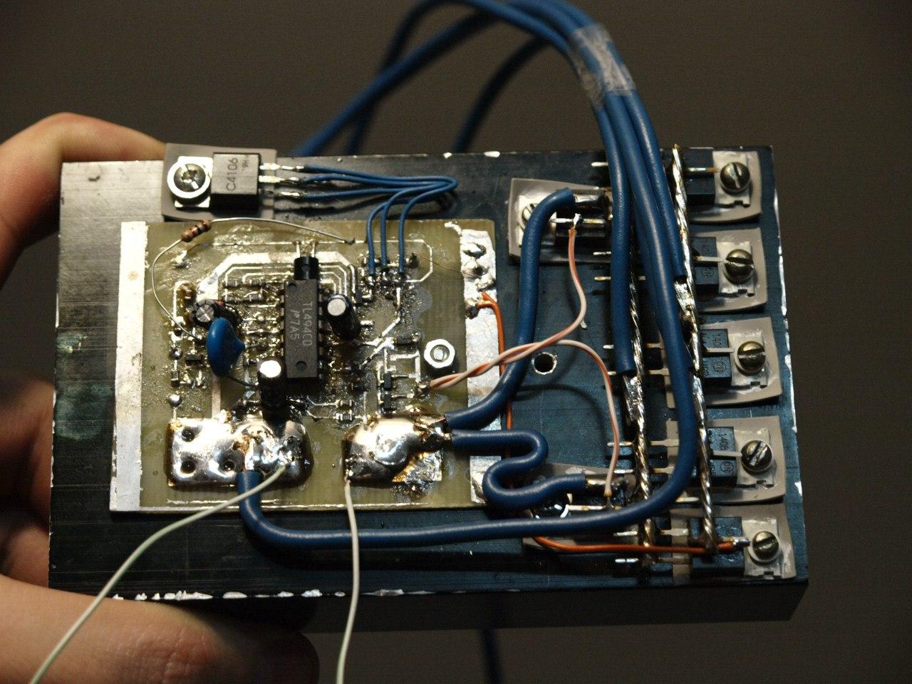 Предварительное преобразование напряжения в контроллере BLDC