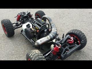 Тюнинг Losi DBXL, часть 4 ... Бензиновая радиоуправляемая модель машины