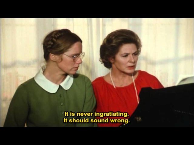Autumn Sonata (Hostsonaten) 1978 - (Ingrid Bergman, Liv Ullmann Halvar Björk)