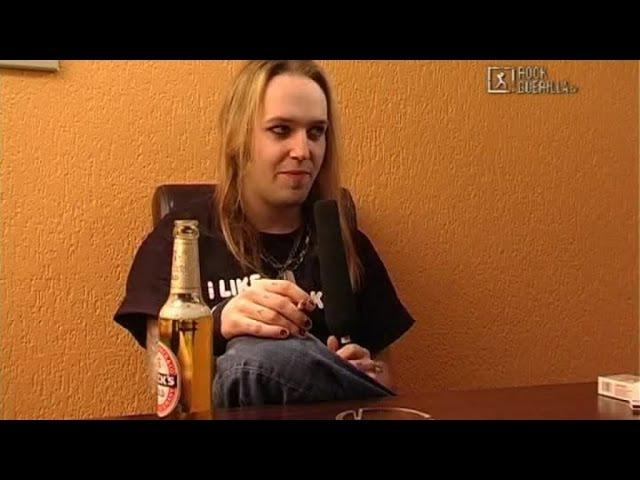 Children Of Bodom - Alexi Laiho in private talk (2005)