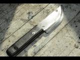 Нож с односторонней заточкой (часть 2)