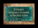 Латинский язык Урок 2 11 Латинские пословицы