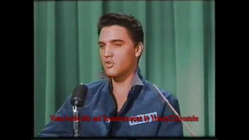 Elvis Presley - I Want To Be Free (COLOR and ORIGINAL Binaural 2-Track-Stereo) - Jailhouse Rock