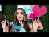 Laura Marano's boyfriend cheats on her? And a Good Luck Charlie V-day date!