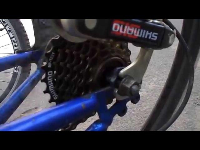 Люфт шат задней звезды на велосипеде как убрать в чем причина Задние звезды велосипеда