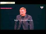 Захарченко на костылях поздравил женщин с 8 марта