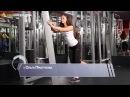 Фитнес Тренировка ягодиц Отведение ноги