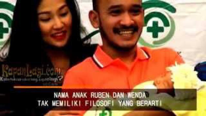 Video Apa Sih Arti Nama Dari Anak Ruben Onsu Wenda~Gosip Artis 12 Juni 2015