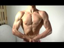 Hot guy muscle worship fitness oiling