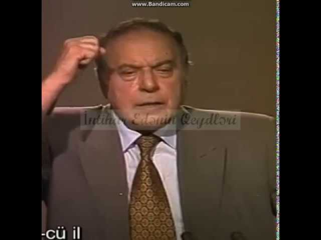 Heydər Əliyev`in Talış xalqına müraciəti