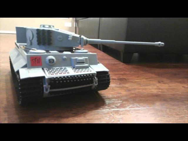 3d Printed Tiger 1 Tank - Cooler Master World Series - Demo
