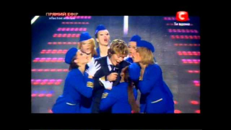 Х-фактор (полуфинал)   Александр Кривошапко диско