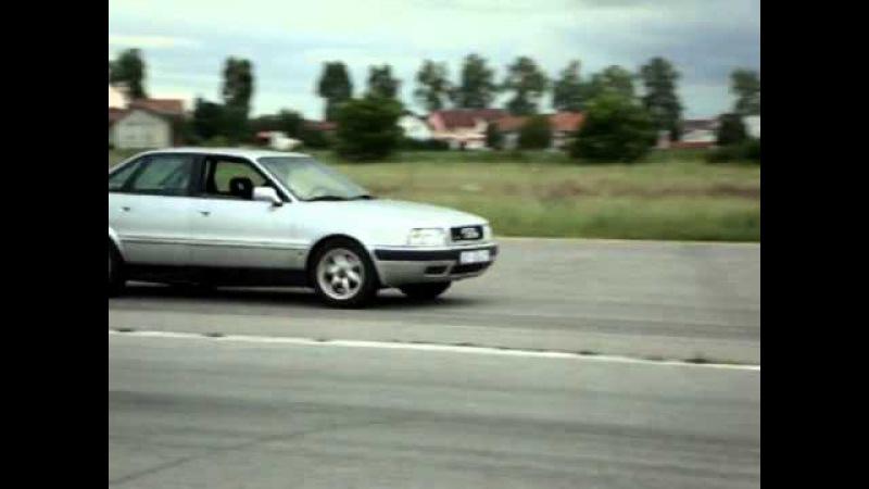 BMW 335i E30 vs. Audi 80 4.2 V8 quattro.mp4