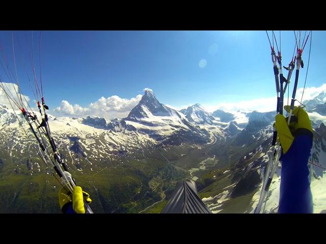 красота полета...GoPro: Red Bull X Alps