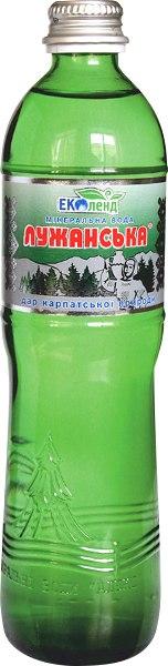 Мінеральна вода Лужанська, Еколенд, 0.5 л