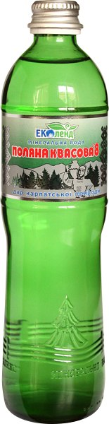 Мінеральна вода Поляна Квасова 8, Еколенд, 0.5 л
