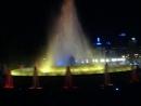 цветной музыкальный фонтан в г. Барселона. ( Испания )