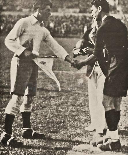 Капитаны команд: Анхель Боссио (Аргентина) и  Франсиско Гарса Гутьеррес (Мексика).