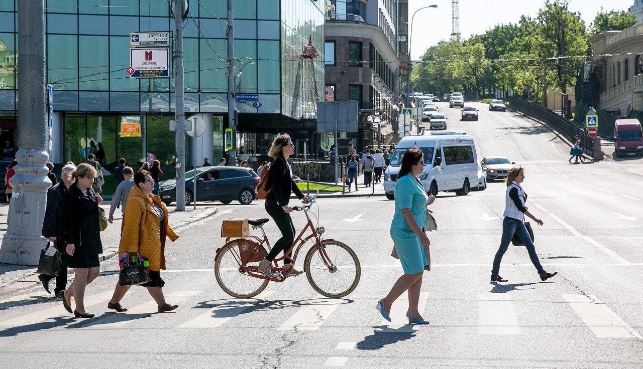 На работу/учёбу на велосипеде