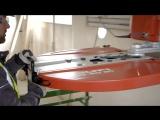 Алмазная резка стенорезной машиной Hilti - DST 10-CA