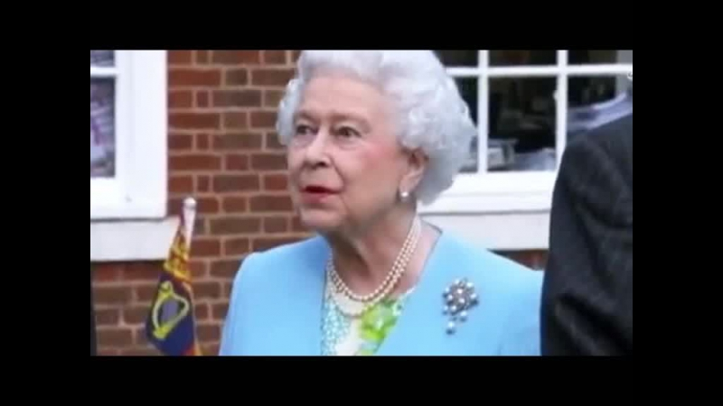Королева английская Елизавета II