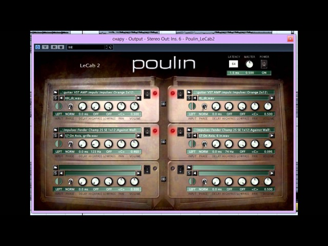 Metal mixing. LePou Vst test