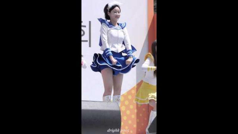 150510 크레용팝CrayonPop - 빠빠빠BarBarBar (금미) [여성마라톤 평화광장] by drighk 직캠fancam
