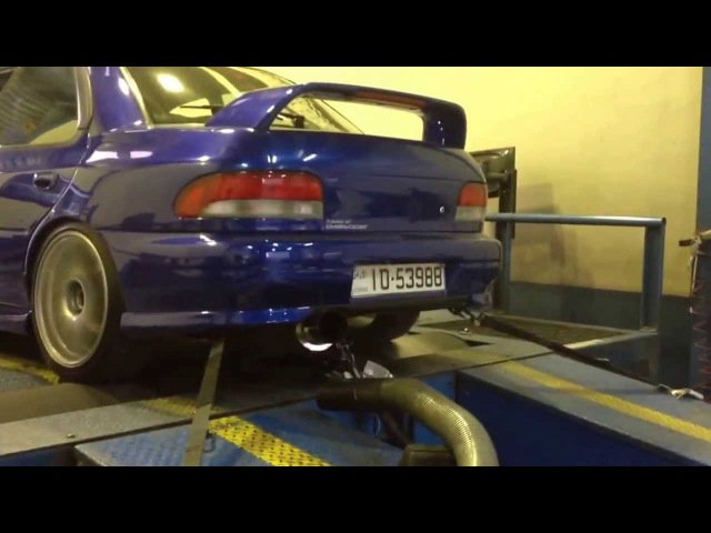 Anti Lag Flame Thrower 2000 Subaru Impreza Sti 2 0L ViPec ECU Tuned By Ahmad Daham