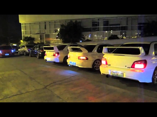 Subaru Impreza Launch Control - Anti Lag Flames
