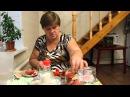 Рецепт консервированных помидоров. Аппетитные дольки .