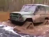 УАЗ -  На гусеницах ! off road ! ))
