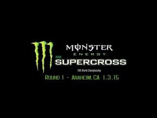 2015 AMA Supercross Rd 1 Anaheim 1 Full Event (720p HD)