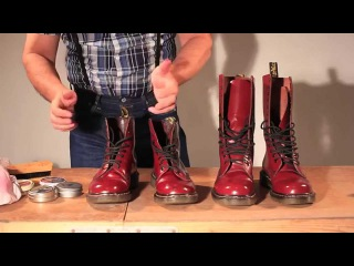 How to polish your Dr Martens SKINHEAD STYLE!