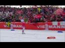 Финиш Терезы Йохауг в марафоне (Чемпионат Мира 2015, Фалун)