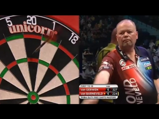 Raymond van Barneveld vs Michael van Gerwen (2015 Dubai Duty Free Darts Masters / Quarter Final)