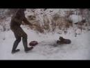 Видео спасения рыси взорвало YouTube. дикий мир и животные в нем.