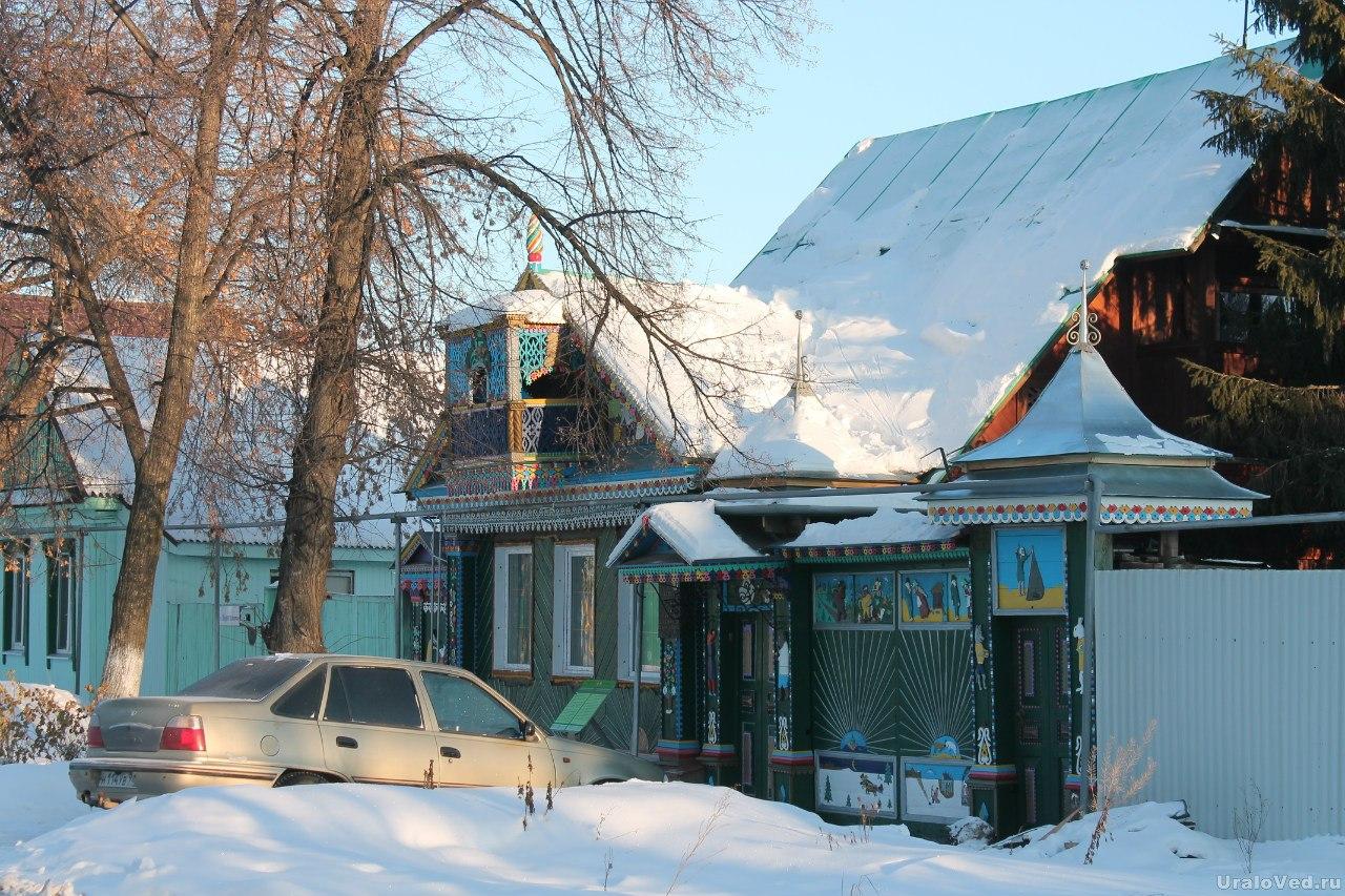 Дом умельца Вольхина в Березовском