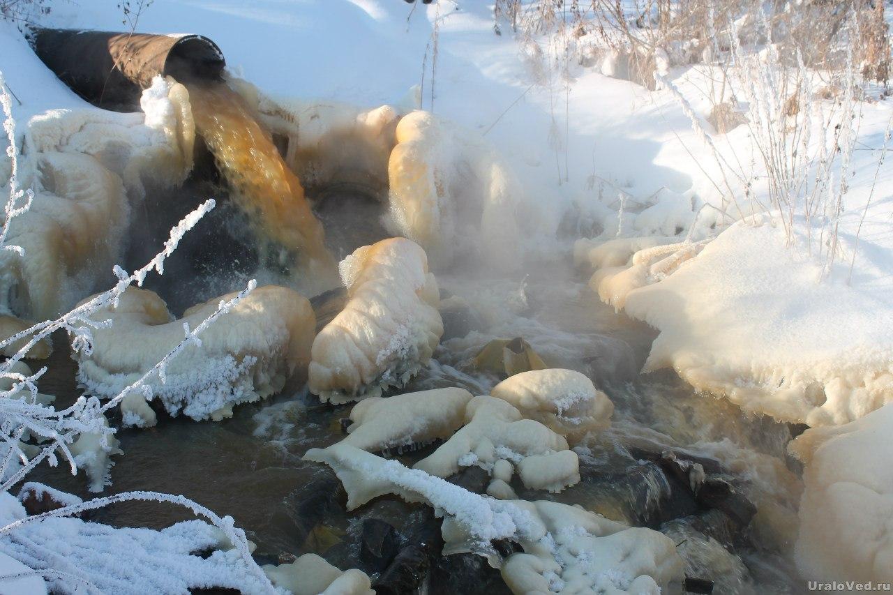 Слив шахтных вод